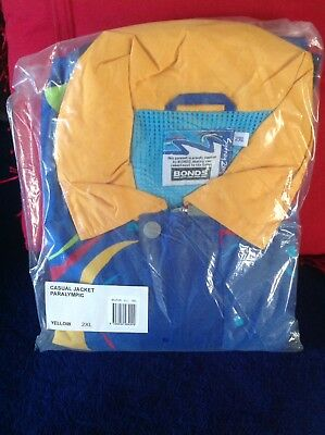 Sydney 2000 Olympic Casual Paralympic Yellow X Jacket 2XL