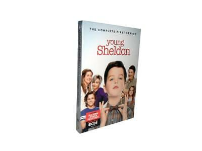 Young Sheldon: The Complete First Season 1 (DVD, 2018, 2-Disc Set)