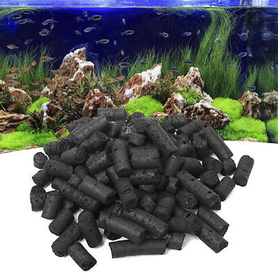 Columnar Activated Carbon Charcoal Water Filter Cleaner For Aquarium Fish Tank