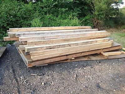 1 x reclaimed timber 4x4 posts , 2.7 & 3M,Slight Imperfections, But Very Usable