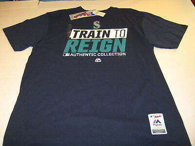 a302dbe781d Seattle Mariners Train To Reign - MLB Authentic Collection T-Shirt New! NWT  XL