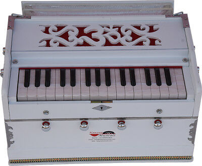 OM HARMONIUM WHITE~MINI MAGIC~PETI~BAJA~2¾ OCTAVE~SHRUTI~440Hz~YOGA~BHAJAN~CHANT