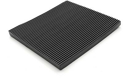 9.5mm Electrical Rib Floor Matting - protects workers against electric shocks