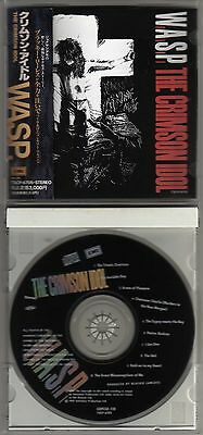 Wasp: The Crimson Idol Cd Japanese Blackie Lawless W.a.s.p.