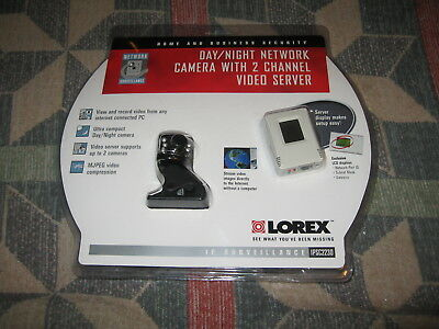 Lorex IPSC2230 Day/Night Network Camera with 2 Channel Video Server