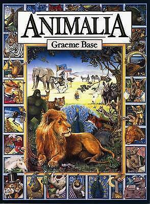 REDUCED Animalia by Graeme Base All Proceeds Go To Charity  RRP$15.99