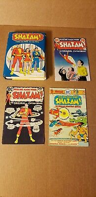SHAZAM! From The 40's To The 70's HC with Dust Jacket! SHAZAM! Comic 2, 5, 20