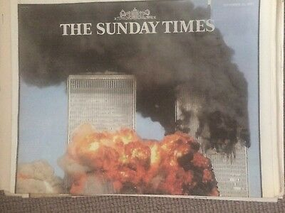 SUNDAY TIMES Newspaper Supplement - 16 September 2001 - 9/11 Issue