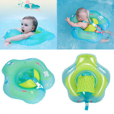 Baby Kids Inflatable Float Swimming Ring Swim Trainer Safety Aid for 3-36 Months