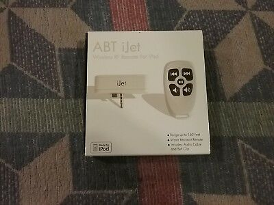 ABT iJet Wireless RF Remote For iPod
