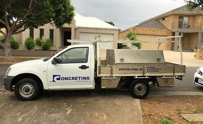 2005 Holden Rodeo Tray Ute