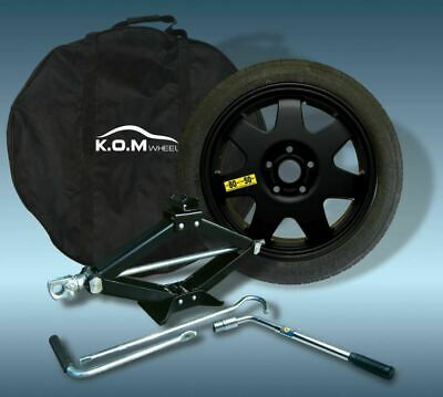 """17""""  Toyota Corolla  2014  > 2020  K.o.m Space Saver Spare Wheel And Tyre Kit"""