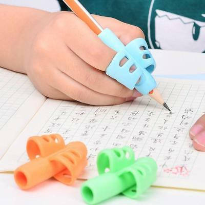3pcs Children Pen Posture Correction Pencil Writing Aid Grip Holder Device Tools