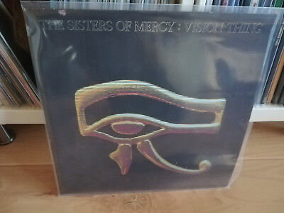 LP - THE SISTERS OF MERCY - Vision Thing - 1990 -  MR 449 L