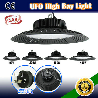 100W 300W 400W Ufo High Bay Led Work Light Warehouse Factory Workshop Industrial