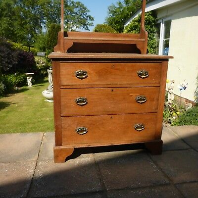Edwardian dresser /chest of drawers