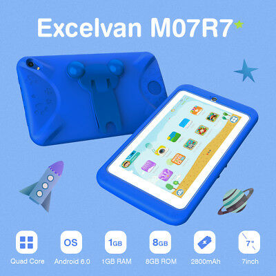 "7"" INCH KIDS ANDROID 6.0 TABLET PC QUAD CORE WIFI BT Dual Camera CHILD CHILDREN"