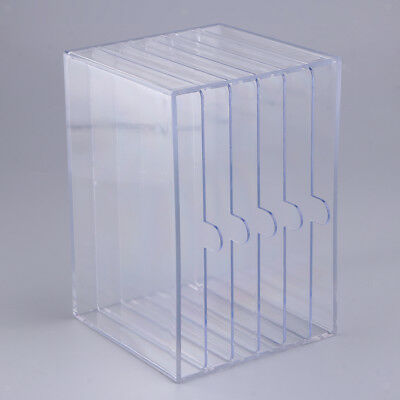 Acrylic Storage Box Nail Tips Practice Dispaly Stand False Tip Training Tool