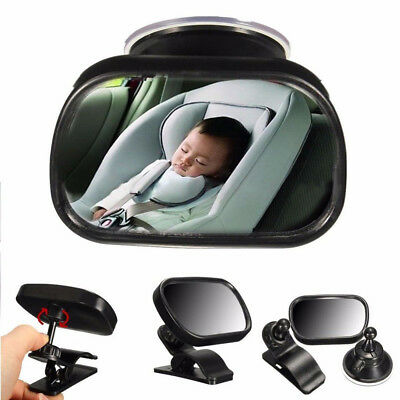 Kids Baby Car Seat Rear View Mirror Facing Back Infant Child Toddler Ward Safety