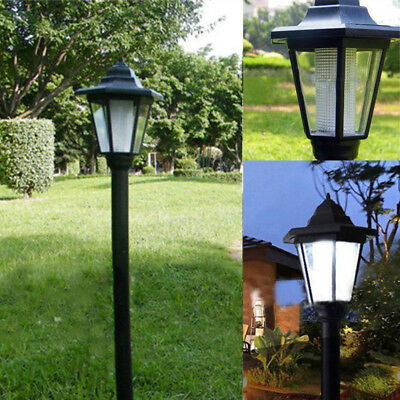 Garden LED Lights Lamp Solar Powered Borders Pathway Driveway Outdoor Patio New