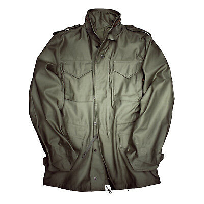 Alpha Industries M65 Jacket, Olive, Olive Green, M-65, Field 100103