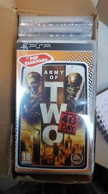 Army of 2 - PSP - Job lot x15 - Brand New