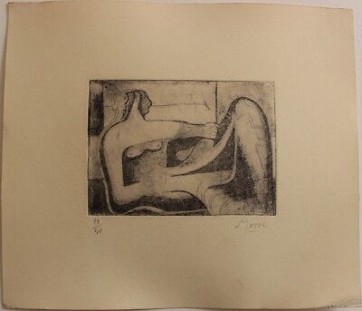 Etching  HENRY  MOORE