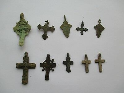 Ancient cross.  Set  pendant  Metal detector finds   №515 A 100% original