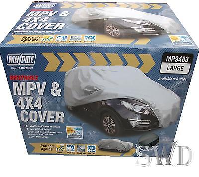 Car cover MAYPOLE TOP QUALITY MPV 4X4 large 500x210x140cm breathable protection