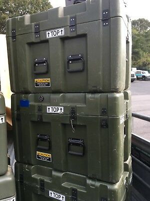 Military Transport Storage Tool Case and Box 32 x 21 x 20