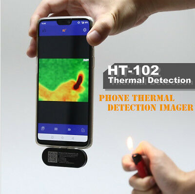 HT-102 Phone Thermal detection Imager For Android Recording Face Imaging Camera
