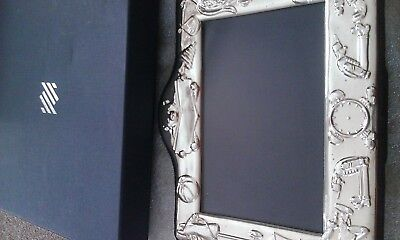 Sterling Silver Child / Baby Photo Frame