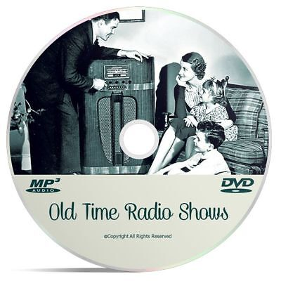 Calling All Cars Crime Detective Collection OTR 272 Old Time Radio Shows Mp3 DVD