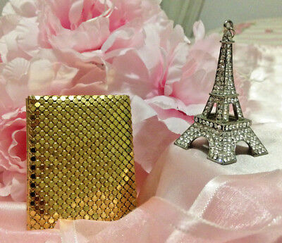 Fabulous Vintage Mesh Key Case with a Whistle! In A1 Condition! Don't miss out!