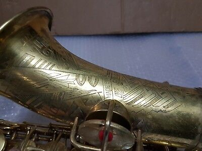 1930 CONN NEW WONDER  VIRTUOSO DELUXE ALT / ALTO SAX / SAXOPHONE - made in USA