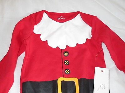 Santa Father ChristmasBaby Vest F&F Long sleeve Unisex 12-18 Month New Tag On