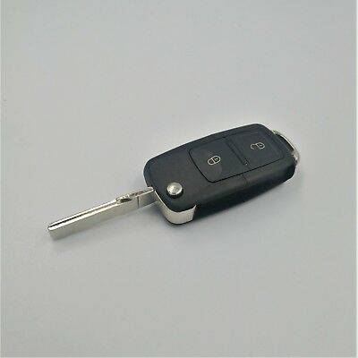 Volkswagen Seat Skoda 1J0 959 753 AG ID48 2 Button Remote Control Flip Key 433Mh