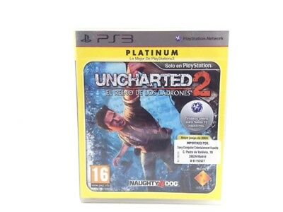 Juego Ps3 Uncharted 2: Among Thieves Ps3 4348441