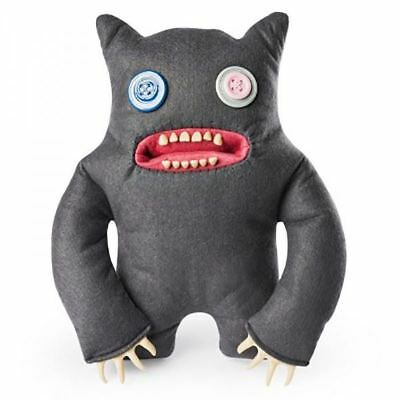 Fuggler - Large Funny Ugly Monster Plush - Grey with Button Eyes