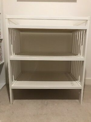 Ikea Gulliver Baby Changing Table White USED