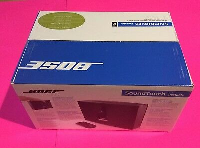 New Sealed Bose SoundTouch Portable battery Series II Wireless MusicSystem727225