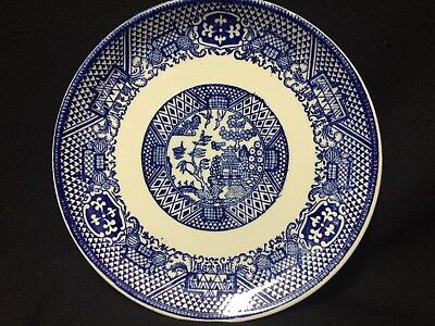 Vintage! Very Nice Asian Style Blue and White Small Plate