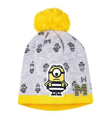 Boys Girls Kids Official Licensed Minions Despicable Me Winter Hat