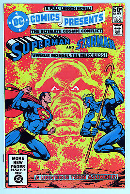DC Comics 36 - Superman - Starlin - High Grade 9.4 NM