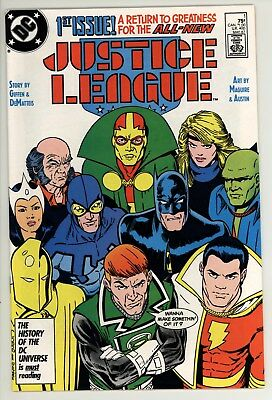 Justice League 1 - New Team - Great Series - High Grade 9.4 NM
