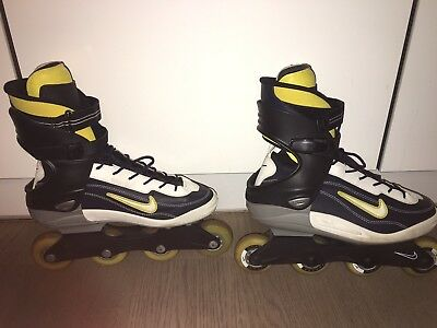 Nike Roller blades used but in very good condition. Suitable for size 9 Or 10.