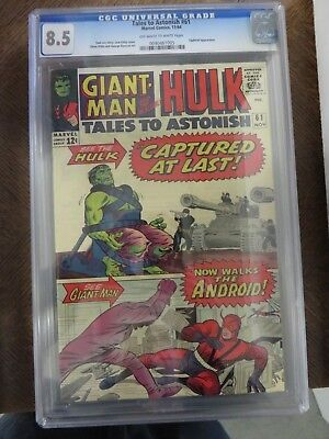 Cgc 8.5 Tales To Astonish #61 Silver Age