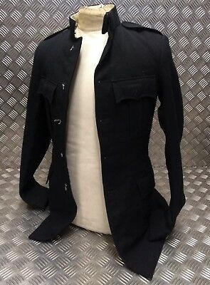 GENUINE VINTAGE BRITISH Army Issue No1 Dress Jacket Blues Number One Tunic