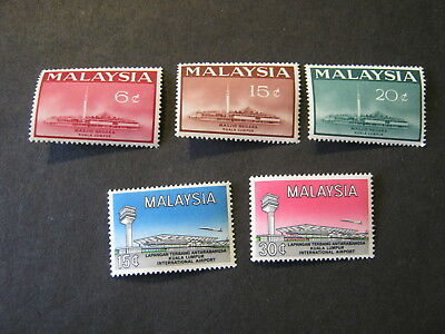 MALAYSIA 1965  2 sets of STAMPS  SG 15 - 19   MNH