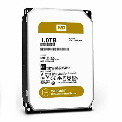 WD 1TB Gold DATACENTER 3.5' Enterprise 128MB 24x7 7200RPM HDD HAS-ST1000NM0008